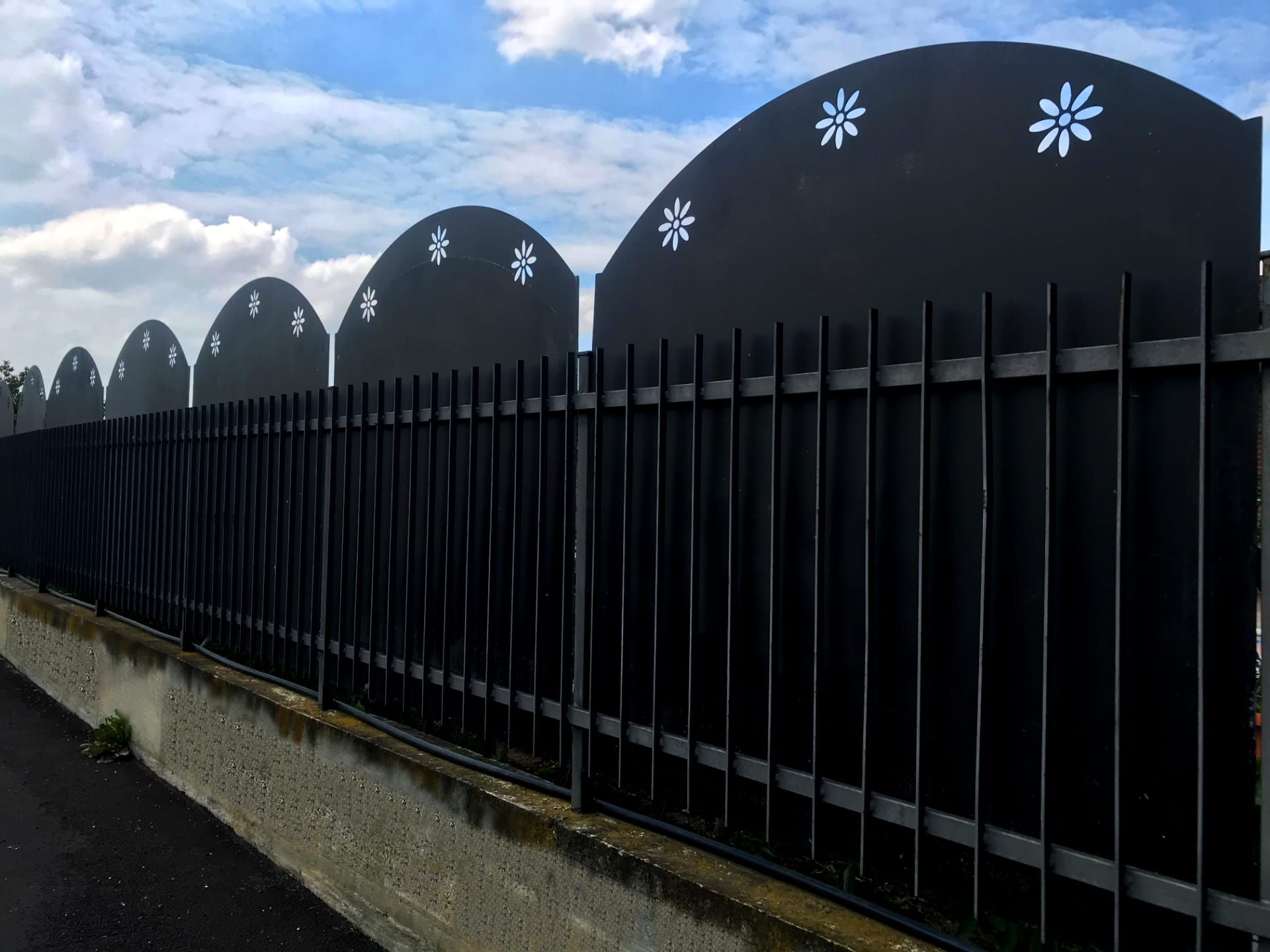 recinzione in ferro ge carpenteria pavia milano